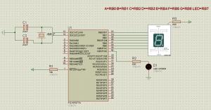 circuito display pic