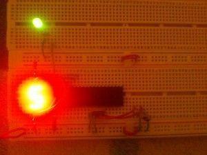 resultado circuito display pic