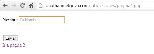 como crear sesiones en php JonathanMelgoza