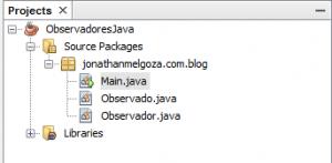 Observadores en Java 1