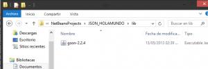 Ejemplo de JSON en java con Gson jonathanmelgoza 3