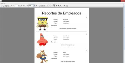como crear reportes en Java jonathanmelgoza