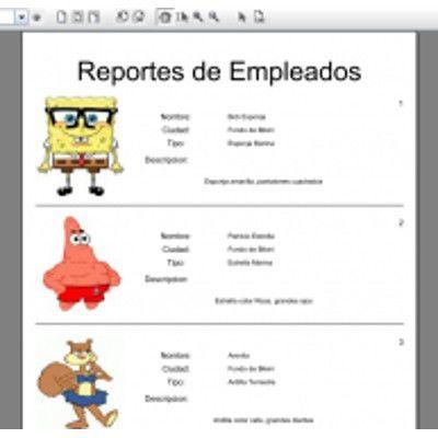 Como crear Reportes en Java con Imagenes desde una Base de Datos
