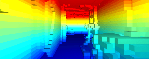 Algoritmo para Crear Mapas 3d en Tiempo Real