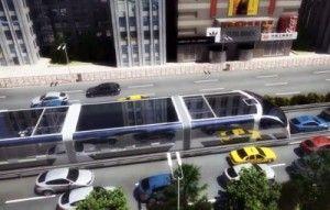 Transporte Publico Futurista en China 1