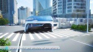 Transporte Publico Futurista en China 2