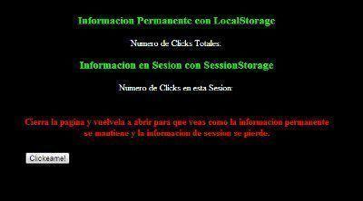 HTML5 Almacenamiento Web con LocalStorage y SessionStorage jonathanmelgoza