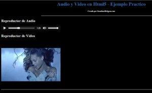 Audio y Video en Html5 Ejemplo Practico jonathanmelgoza