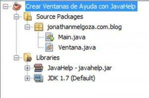 Crear Ventanas de Ayuda con JavaHelp 1