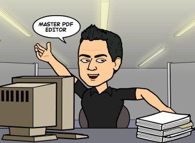 Editar Archivos PDF con Master PDF Editor