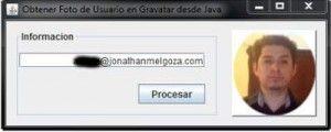 Obtener Foto de Usuario desde Gravatar con Java resultado