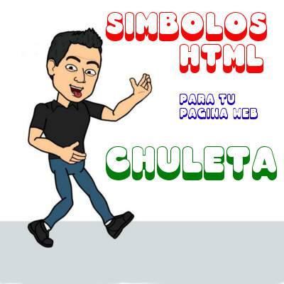 Simbolos HTML para tu Pagina Web ✤☎★♘♤☂✚