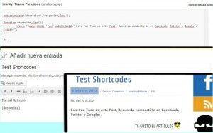 Como Hacer un ShortCode en WordPress - Ejemplo Practico 1 jonathanmelgoza