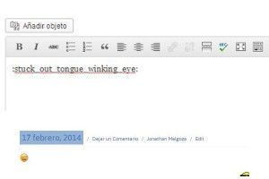 Emoticonos para WordPress con Emoji 2 jonathanmelgoza