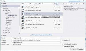 Aplicacion Web con Asp.Net MVC y Visual Basic 1