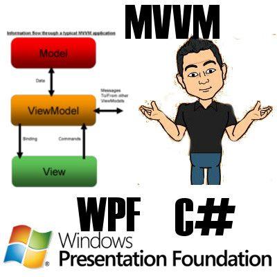 Introduccion a WPF y C# con el Modelo MVVM jonathanmelgoza