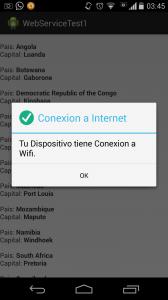 Comprobar la Conexion de Internet en Android 2