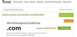 como comprar un dominio barato 1