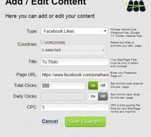 como conseguir likes en facebook 2