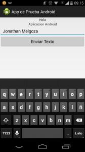 primer programa en android 10