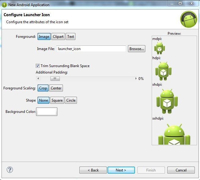 primer programa en android 3