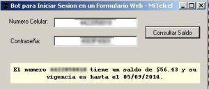 bot en C# para iniciar sesion formulario mitelcel final