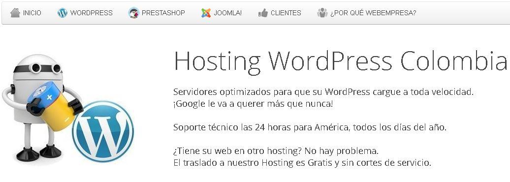 mejor hosting en colombia