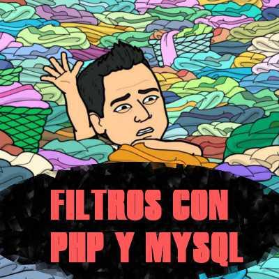 Crear Filtros de Productos en Php y Mysql