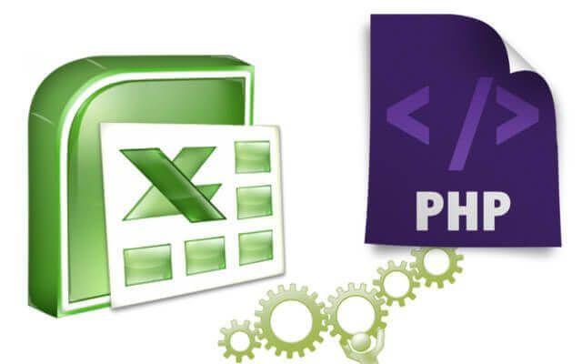 Como crear un Excel con php