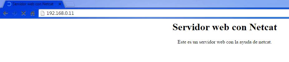 servidor web con netcat 2