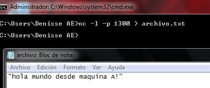 netcat transferencia de archivos