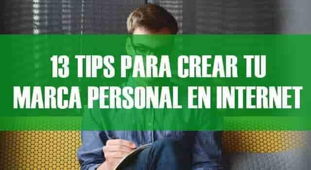 13 Excelentes tips para crear mi marca personal