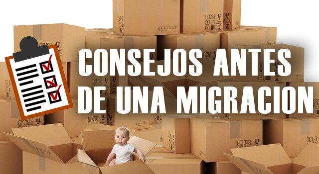 Consejos antes de migrar de hosting