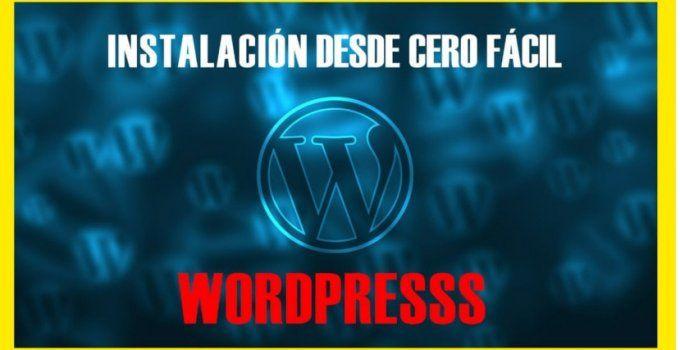 como instalar wordpress desde cero jonathanmelgoza