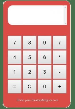 calculadora con jquery ejemplo