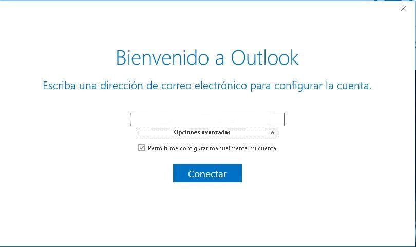 configurar el correo en outlook programa 1