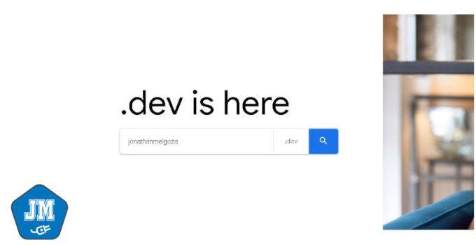 dominios .dev de google jonathanmelgoza